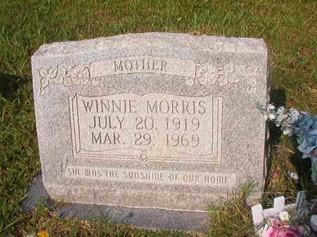 MORRIS, WINNIE - Union County, Arkansas | WINNIE MORRIS - Arkansas Gravestone Photos