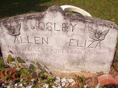 MOSLEY, ALLEN - Union County, Arkansas | ALLEN MOSLEY - Arkansas Gravestone Photos
