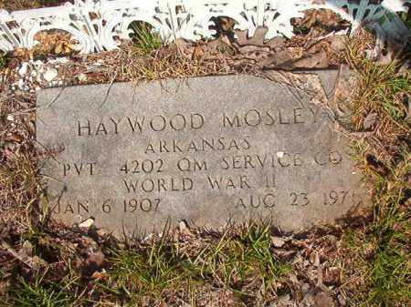 MOSLEY (VETERAN WWII), HAYWOOD - Union County, Arkansas | HAYWOOD MOSLEY (VETERAN WWII) - Arkansas Gravestone Photos