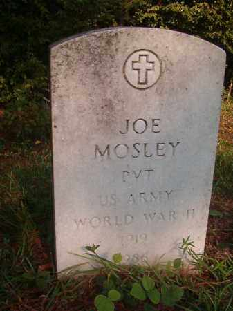 MOSLEY (VETERAN WWII), JOE - Union County, Arkansas | JOE MOSLEY (VETERAN WWII) - Arkansas Gravestone Photos