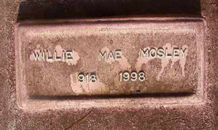 MOSLEY, WILLIE MAE - Union County, Arkansas | WILLIE MAE MOSLEY - Arkansas Gravestone Photos
