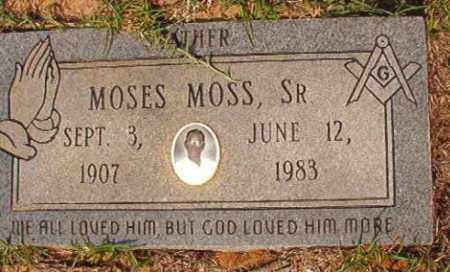 MOSS, SR, MOSES - Union County, Arkansas | MOSES MOSS, SR - Arkansas Gravestone Photos