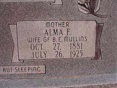 MULLINS, ALMA F - Union County, Arkansas | ALMA F MULLINS - Arkansas Gravestone Photos