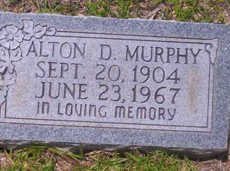 MURPHY, ALTON D - Union County, Arkansas | ALTON D MURPHY - Arkansas Gravestone Photos