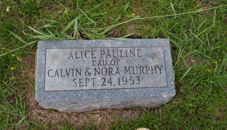 MURPHY, ALICE PAULINE - Union County, Arkansas | ALICE PAULINE MURPHY - Arkansas Gravestone Photos