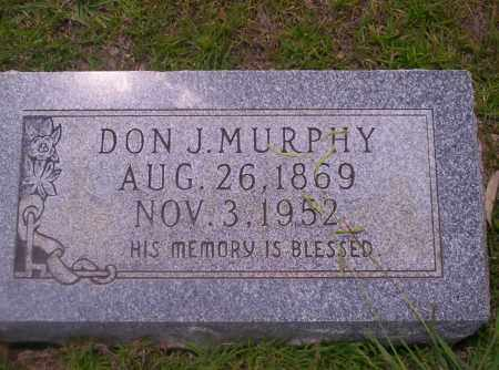 MURPHY, DON J - Union County, Arkansas | DON J MURPHY - Arkansas Gravestone Photos