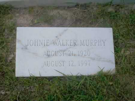 WALKER MURPHY, JOHNIE - Union County, Arkansas | JOHNIE WALKER MURPHY - Arkansas Gravestone Photos