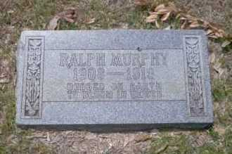 MURPHY, RALPH - Union County, Arkansas | RALPH MURPHY - Arkansas Gravestone Photos