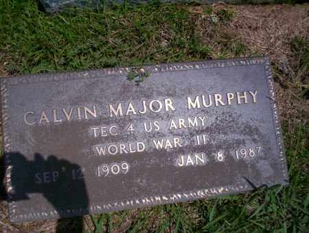 MURPHY (VETERAN WWII), CALVIN MAJOR - Union County, Arkansas | CALVIN MAJOR MURPHY (VETERAN WWII) - Arkansas Gravestone Photos