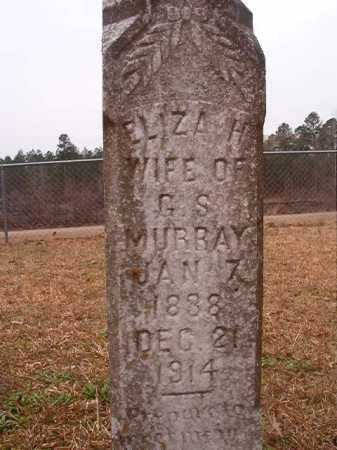 MURRAY, ELIZA H - Union County, Arkansas | ELIZA H MURRAY - Arkansas Gravestone Photos
