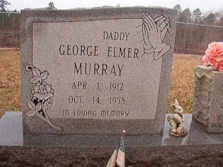 MURRAY, GEORGE ELMER - Union County, Arkansas   GEORGE ELMER MURRAY - Arkansas Gravestone Photos
