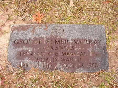 MURRAY (VETERAN WWII), GEORGE ELMER - Union County, Arkansas | GEORGE ELMER MURRAY (VETERAN WWII) - Arkansas Gravestone Photos