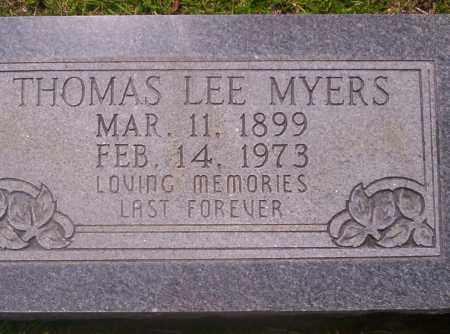 MYERS, THOMAS LEE - Union County, Arkansas | THOMAS LEE MYERS - Arkansas Gravestone Photos
