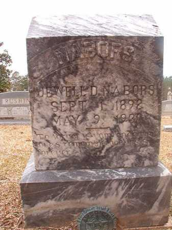 NABORS, JEWELL D - Union County, Arkansas | JEWELL D NABORS - Arkansas Gravestone Photos