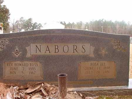 NABORS, REV, HOWARD ROSS - Union County, Arkansas | HOWARD ROSS NABORS, REV - Arkansas Gravestone Photos