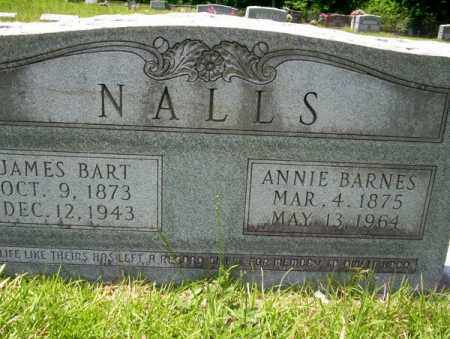NALLS, JAMES BART - Union County, Arkansas | JAMES BART NALLS - Arkansas Gravestone Photos