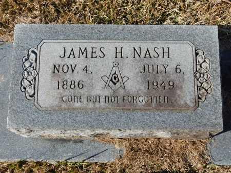 NASH, JAMES H - Union County, Arkansas | JAMES H NASH - Arkansas Gravestone Photos