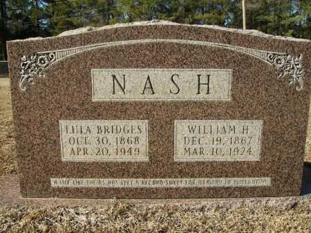 BRIDGES NASH, LULA - Union County, Arkansas | LULA BRIDGES NASH - Arkansas Gravestone Photos