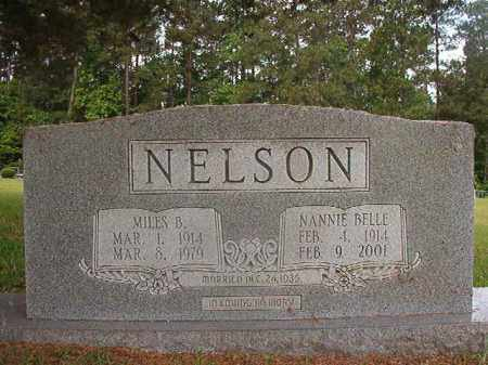 NELSON, NANNIE BELLE - Union County, Arkansas | NANNIE BELLE NELSON - Arkansas Gravestone Photos
