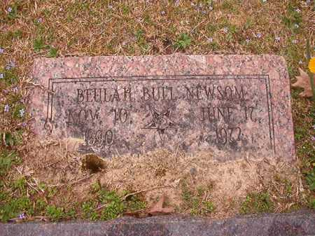 BULL NEWSOM, BEULAH - Union County, Arkansas | BEULAH BULL NEWSOM - Arkansas Gravestone Photos