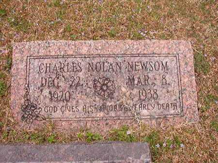 NEWSOM, CHARLES NOLAN - Union County, Arkansas | CHARLES NOLAN NEWSOM - Arkansas Gravestone Photos