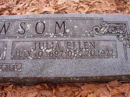 NEWSOM, JULIA ELLEN - Union County, Arkansas | JULIA ELLEN NEWSOM - Arkansas Gravestone Photos