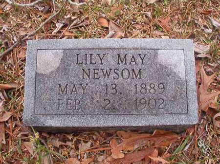 NEWSOM, LILY MAY - Union County, Arkansas | LILY MAY NEWSOM - Arkansas Gravestone Photos
