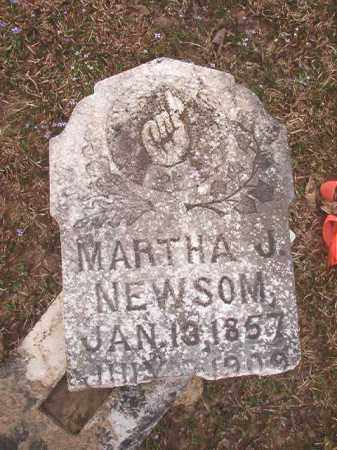 NEWSOM, MARTHA J - Union County, Arkansas | MARTHA J NEWSOM - Arkansas Gravestone Photos