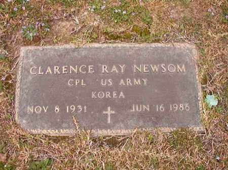 NEWSOM (VETERAN KOR), CLARENCE RAY - Union County, Arkansas | CLARENCE RAY NEWSOM (VETERAN KOR) - Arkansas Gravestone Photos