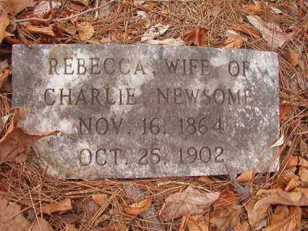 NEWSOME, REBECCA - Union County, Arkansas | REBECCA NEWSOME - Arkansas Gravestone Photos