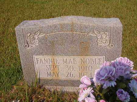 NOBLE, FANNIE MAE - Union County, Arkansas | FANNIE MAE NOBLE - Arkansas Gravestone Photos