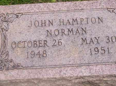 NORMAN, JOHN HAMPTON - Union County, Arkansas | JOHN HAMPTON NORMAN - Arkansas Gravestone Photos