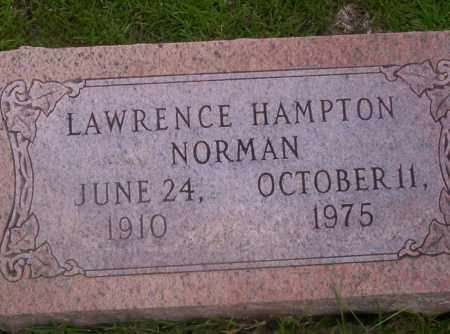 NORMAN, LAWRENCE HAMPTON - Union County, Arkansas | LAWRENCE HAMPTON NORMAN - Arkansas Gravestone Photos
