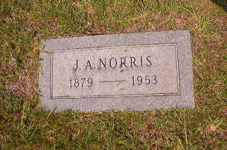 NORRIS, J A - Union County, Arkansas   J A NORRIS - Arkansas Gravestone Photos