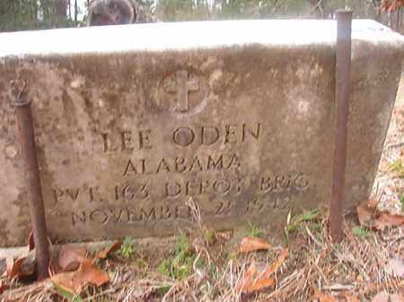 ODEN (VETERAN), LEE - Union County, Arkansas | LEE ODEN (VETERAN) - Arkansas Gravestone Photos