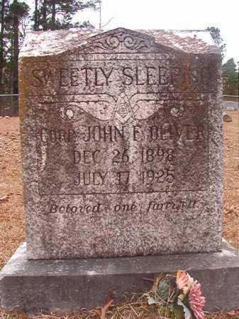 OLIVER (VETERAN), JOHN F - Union County, Arkansas | JOHN F OLIVER (VETERAN) - Arkansas Gravestone Photos
