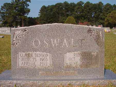 OSWALT, RUBY LEE - Union County, Arkansas | RUBY LEE OSWALT - Arkansas Gravestone Photos