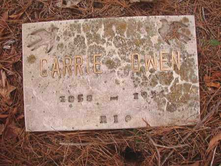 OWEN, CARRIE - Union County, Arkansas | CARRIE OWEN - Arkansas Gravestone Photos