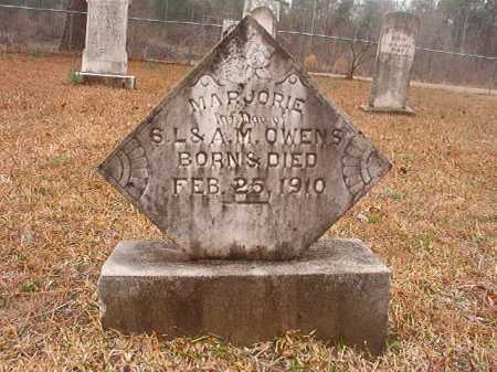 OWENS, MARJORIE - Union County, Arkansas | MARJORIE OWENS - Arkansas Gravestone Photos