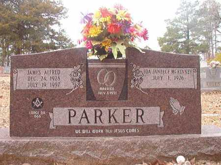 PARKER, JAMES ALFRED - Union County, Arkansas | JAMES ALFRED PARKER - Arkansas Gravestone Photos