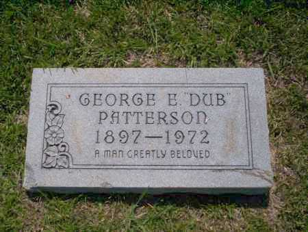 "PATTERSON, GEORGE E ""DUB"" - Union County, Arkansas 