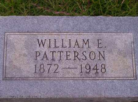PATTERSON, WILLIAM E - Union County, Arkansas | WILLIAM E PATTERSON - Arkansas Gravestone Photos