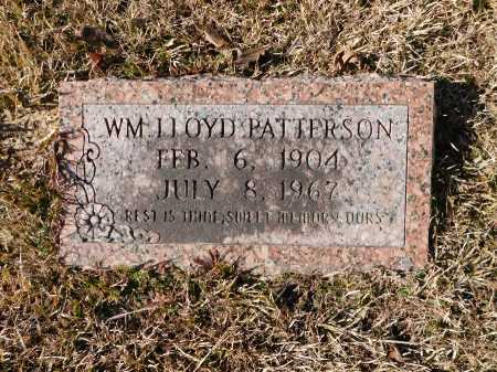 PATTERSON, WILLIAM LLOYD - Union County, Arkansas | WILLIAM LLOYD PATTERSON - Arkansas Gravestone Photos