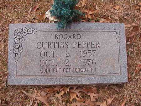 "PEPPER, CURTISS ""BOGARD"" - Union County, Arkansas 