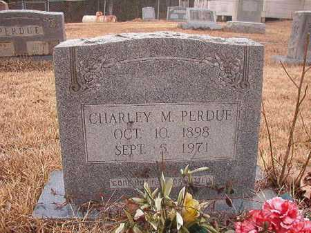 PERDUE, CHARLEY M - Union County, Arkansas | CHARLEY M PERDUE - Arkansas Gravestone Photos