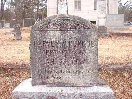 PERDUE, HARVEY M - Union County, Arkansas | HARVEY M PERDUE - Arkansas Gravestone Photos