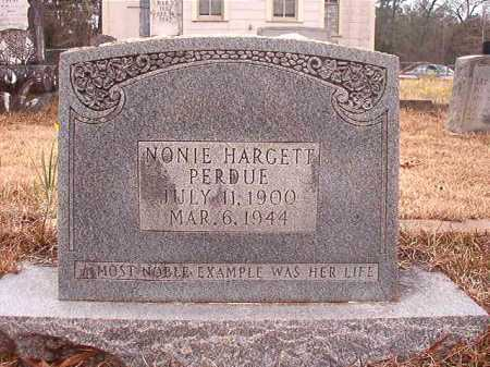PERDUE, NONIE - Union County, Arkansas | NONIE PERDUE - Arkansas Gravestone Photos