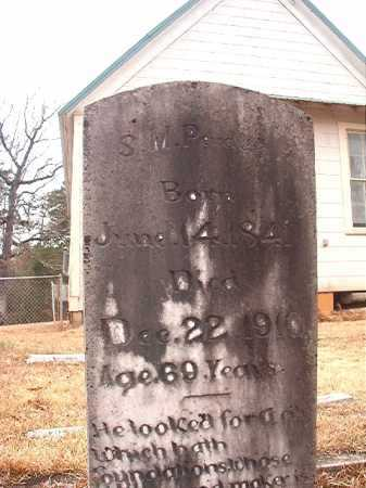 PERDUE, S M - Union County, Arkansas | S M PERDUE - Arkansas Gravestone Photos