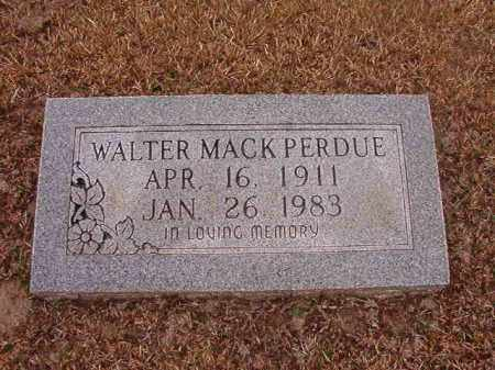 PERDUE, WALTER MACK - Union County, Arkansas | WALTER MACK PERDUE - Arkansas Gravestone Photos