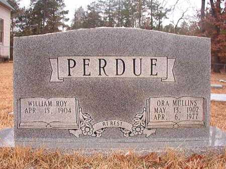 MULLINS PERDUE, ORA - Union County, Arkansas | ORA MULLINS PERDUE - Arkansas Gravestone Photos